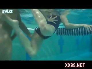Swimming coach fuck teen in pool 05