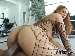 Jazmine is riding a cock