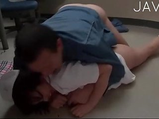 Busty Nurse Gets Fucked On The Floor