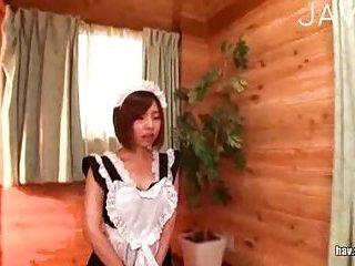 Thumb Asian Maid Giving Head