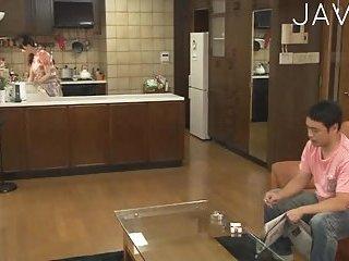 Busty Japanese Babe Gets Banged scene 3