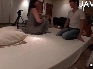 Hot Sweet Couple In Bedroom