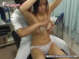 Teen climax Breast Massage