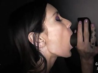 Camilles First Visit to a Gloryhole