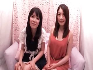Lesbian Japanese love to tease
