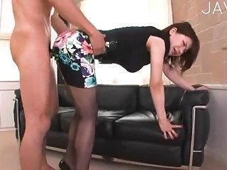 Slutty milf nailed in doggy