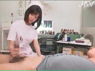 Kinky asian nurse has good skills