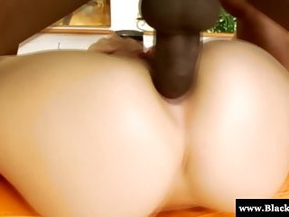 Babe Holly Michaels drilled with BBC!
