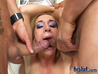 Her mouth was full of cum ! scene 3