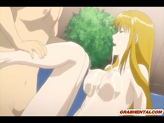 Japanese hentai gets squirting bigtits and wetpussy poking