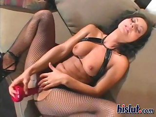 Two girls sharing a cock