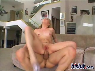 Her tight pussy was wet