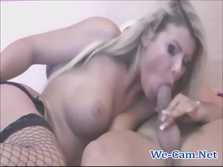 Hot couple live fucking show on webcam