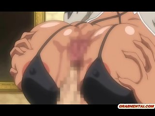 Huge boobs hentai wet pussy drilled and cummed allbody