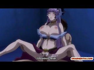 Big boobs hentai Princess hot riding cock