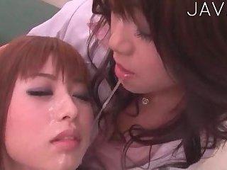 Asian Girls Get Facials