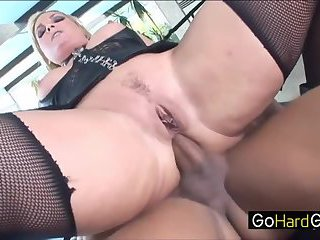 Layla Sexy redhead sucks him off porn HD