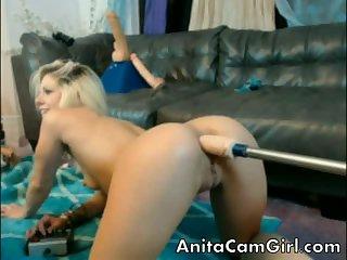 Amazing teen on webcam