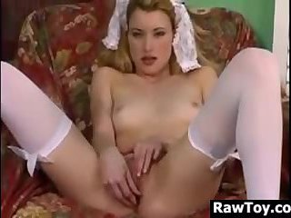 Horny Maid With A Vibrator