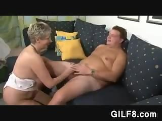 European Granny Wants A Cock