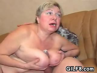 Fat Granny Needs A Dick In Her