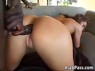 Beautiful Arab And A BBC In Her Ass