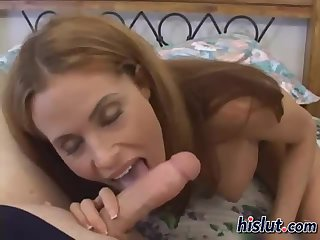 Ginger fucked this dick