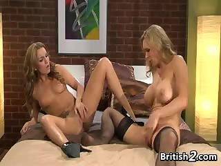 Sexy British Lesbians Want Pussy