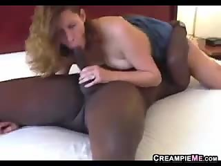 Wife Gets A Creampie By A BBC