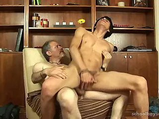 Caught jacking off