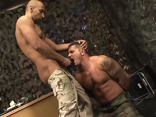 Gay soldiers domination video