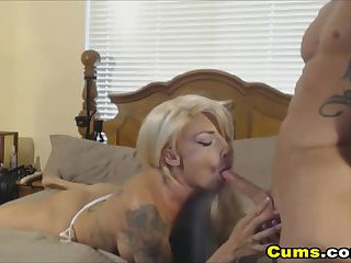 Hot Tattooed Couple Awesome Fucking Sex
