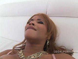 Black slut Kiki Minaj  gets pussy fucking