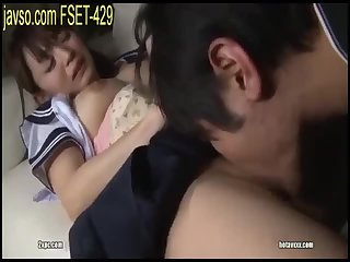 Japanese schoolgirl very slut