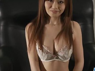Nao shows off her nasty side while posing in sexy lingerie