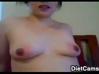 Kinky Slut Plays With Her Pussy