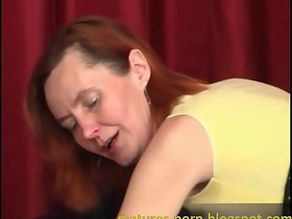 Russian granny anal again