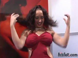 This Latina had some fun