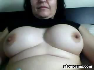 Fat Webcam Slut Teasing