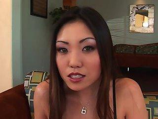 Big guy fucks pussy asian girl