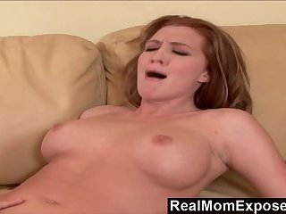 Horny Milf Could Not Wait For the Cameras
