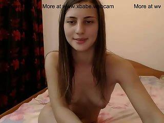 Sexy brunette fucking with boyfriend