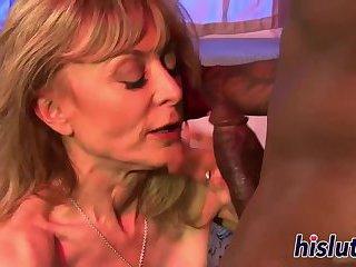 Blond MILF porr HD