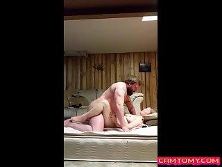 Homemade fucking for horny couple