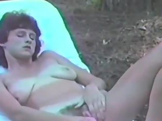 Back to 1991 with my outdoors masturbation