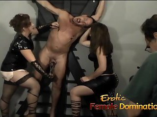 Naughty sluts and horny studs have fun in the dungeon