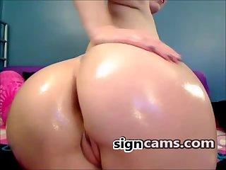 Amazing Big White Butt
