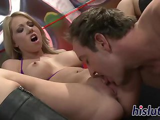 Two cuples exchange their sex partners