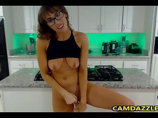 Sexy Housewife In Kitchen