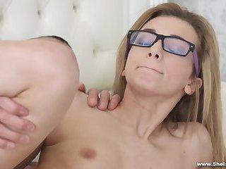 She Is Nerdy - Nerdy sex dream